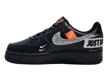"""Nike Air Force """"Just do it"""" Negras"""